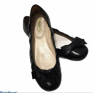 PRADA BALLET PATENT SHOES